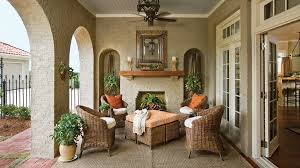 Outdoor Enclosed Rooms - porch and patio design inspiration southern living