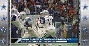 memorable moments garrett s comeback dallas cowboys