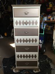 Masters Filing Cabinet with Annie Sloan Chalk Paint Old White Modern Masters Metallic Pale
