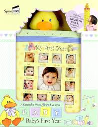 baby albums baby s year keepsake album
