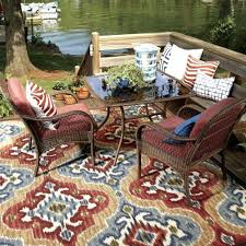 Rubber Backed Area Rugs by Amazon Round Area Rugs Allen Roth Syden Oasis Blue Rectangular