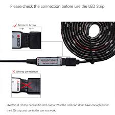 led strip lighting melbourne aliexpress com buy dc5v usb led strip 5050 rgb flexible light 1m