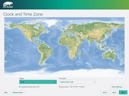 World Time Clock Map by Portal 42 3 Screenshots Opensuse