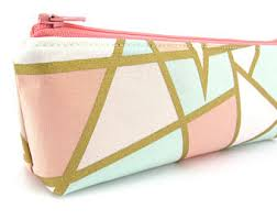 pencil cases triangle pencil etsy