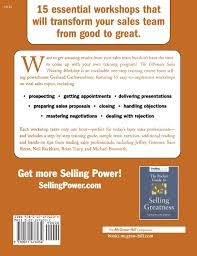 the ultimate sales training workshop a hands on guide for
