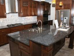 Granite Kitchen Countertops by Silver Pearl Granite Kitchen Countertops U0026 Island Home Design