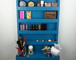 μake up organizer nail polish rack bathroom storage