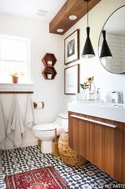 Easy Bathroom Makeover Makeover Of The Guest Bathroom In A Very Cool Style