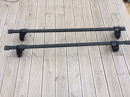 nissan almera roof bars thule roof bars 761 with locking ends and feet in crieff perth