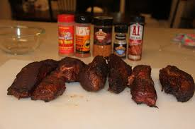 smoked country style ribs rub taste test youtube