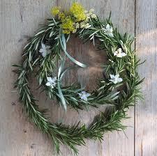 make a magical herb wreath