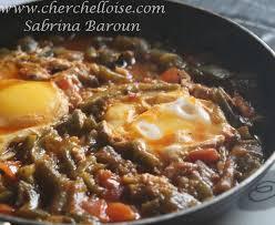 recettes cuisine alg駻ienne tchouktchouka ou chekchouka recette algerienne le mag culinaire