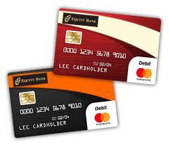 debt cards your equity bank debit card equity bank