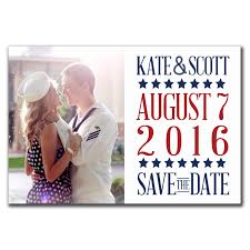 Save The Dates Magnets Patriotic Passion Save The Date Magnet Fun Flip The Print Cafe
