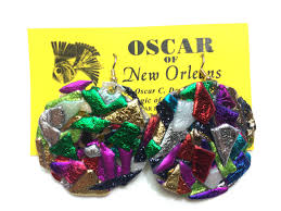 mardi gras earrings earrings