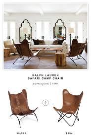 Ralph Lauren Armchair Ralph Lauren Safari Camp Chair Copycatchic