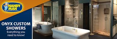 Onyx Shower Base Handy Man Onyx Custom Showers Durable Efficient Beautiful