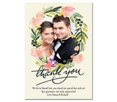 wedding thank you card wedding thank you cards colomb christopherbathum co