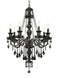 Chandelier Gallery Another Word For Chandelier Gallery Jet Black 7 Light
