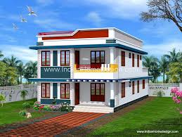 Interior Design Home Indian Flats Interior Design Simple House Design Simple Bedroom Flat Roof House