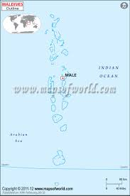 Blank Map Of Mexico by Blank Map Of Maldives Maldives Outline Map