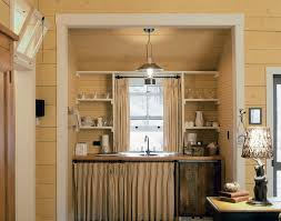 Cabin Style Curtains Cabin Style Curtains With Kitchenette Kitchen Rustic And