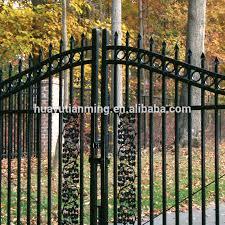 allure aluminum worthington 4 ft x 6 ft black aluminum 3 rail home main gate design black metal fence panel buy aluminium fence