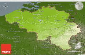 belgium in the map physical 3d map of belgium darken