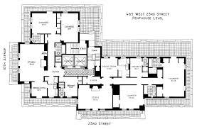luxury penthouse floor plan home design best apartment plans