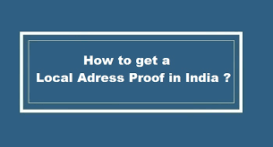 Certification Letter For Address Proof How To Get Local Address Proof In India