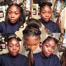 5 heatless hairstyles for short relaxed hair youtube