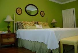 Green Color Bedroom Home Design Ideas - Color schemes for bedrooms green