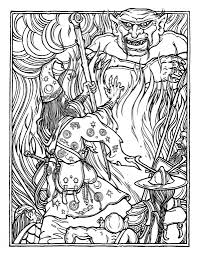 dragons coloring pages greg irons the official advanced dungeons and dragons coloring