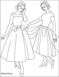 nicole u0027s free coloring pages vintage fashion coloring pages