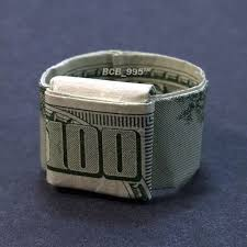 beautiful money origami art pieces many designs made of real