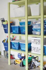 designing wall shelves with standards and brackets prevent and correct your sticky garage shelves