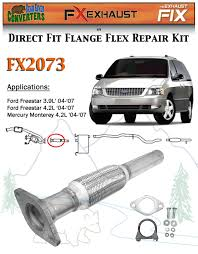 Ford Freestar 2004 Reviews Fx2073 Semi Direct Fit Exhaust Flange Repair Flex Pipe Replacement