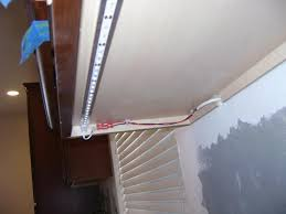 Kitchen Cabinet Lights How To Install Led Strip Lights Under Cabinets Bar Cabinet
