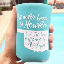 wedding koozie ideas wedding cozziez create your wedding party and unique