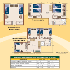 room layout residence halls the college at brockport