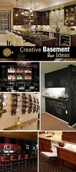 bar ideas 20 creative basement bar ideas hative