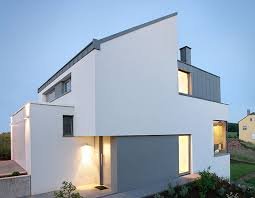 stunning minimalist exterior home design ideas with white stained