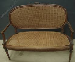 Antique French Settee Antique French Cane Sofa Antiques Atlas