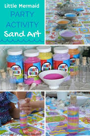 Mermaid Favors For Boys by Sand Great Activity For A Mermaid Must Do This