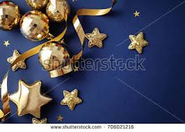 Navy Blue Christmas Tree Decorations by White Christmas Decoration Blue Bow On Stock Photo 3312899