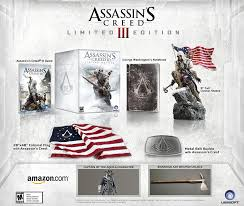 Assassins Creed Black Flag Statue Puzzle Amazon Com Assassin U0027s Creed Iii Limited Edition Playstation 3