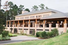 wedding venues houston tx the woodlands country club palmer course wedding venue ceremony