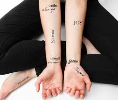 karma sayings for tattoos