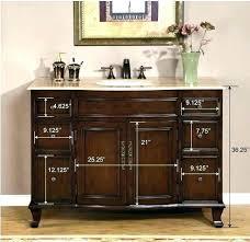 42 bathroom vanity cabinet 42 inch vanity single and double sink inch bathroom vanity bathroom