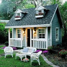 backyard cottage perfect backyard playhouses you can build for your kid